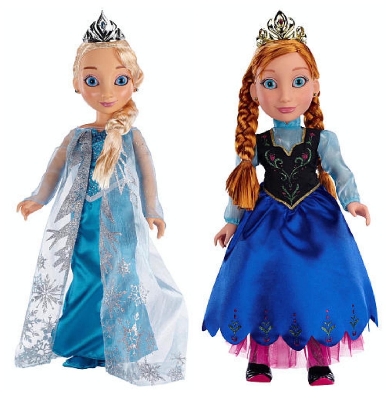 Frozen Toys R Us : Disney frozen princess me quot dolls just reg