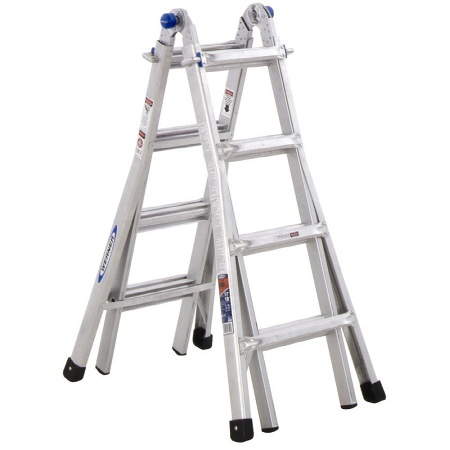 Werner 17 Ft Telescoping Multi Position Ladder Just 99
