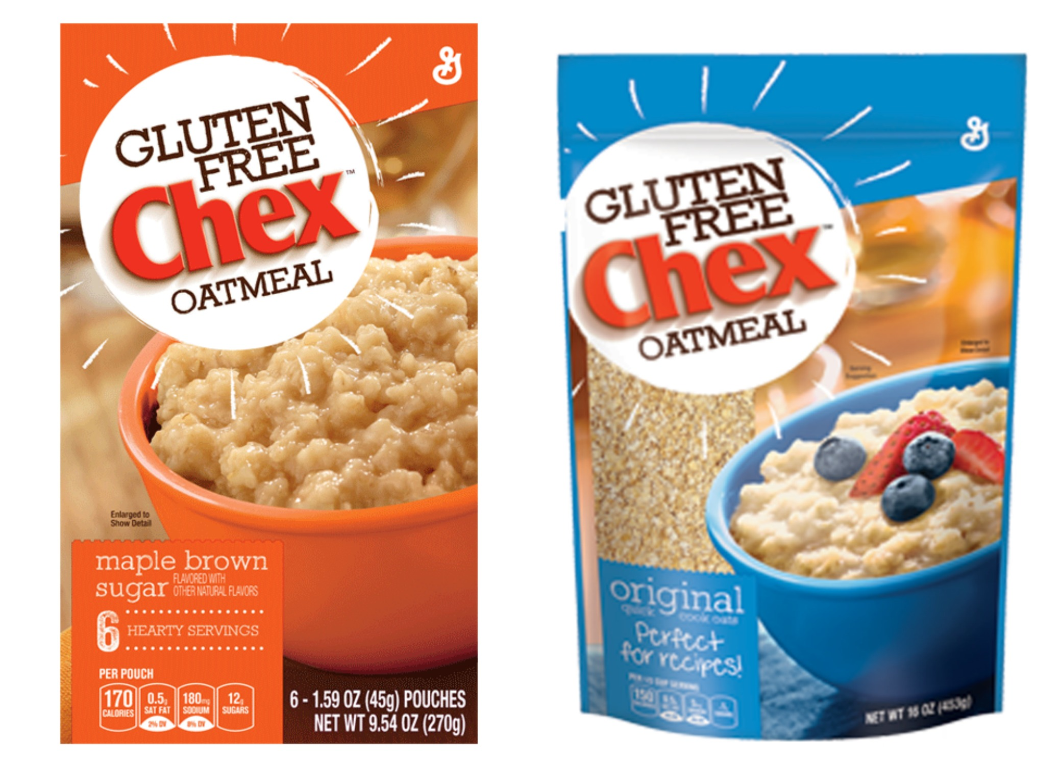 Are oatmeal gluten free
