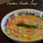 In The Kitchen With Mom Mondays – Lemon Rosemary Chicken Noodle Soup Recipe