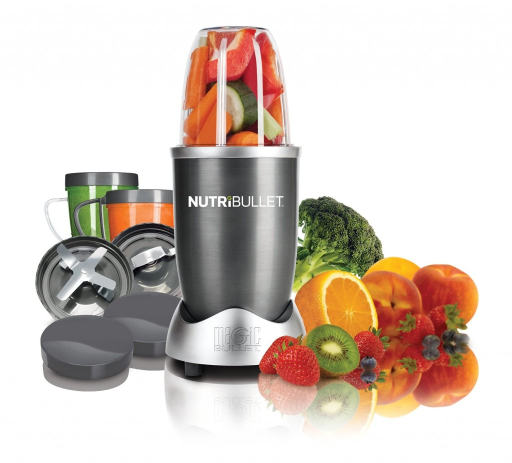 Magic Bullet NutriBullet 12-Piece High-Speed Blender/Mixer System Just ...