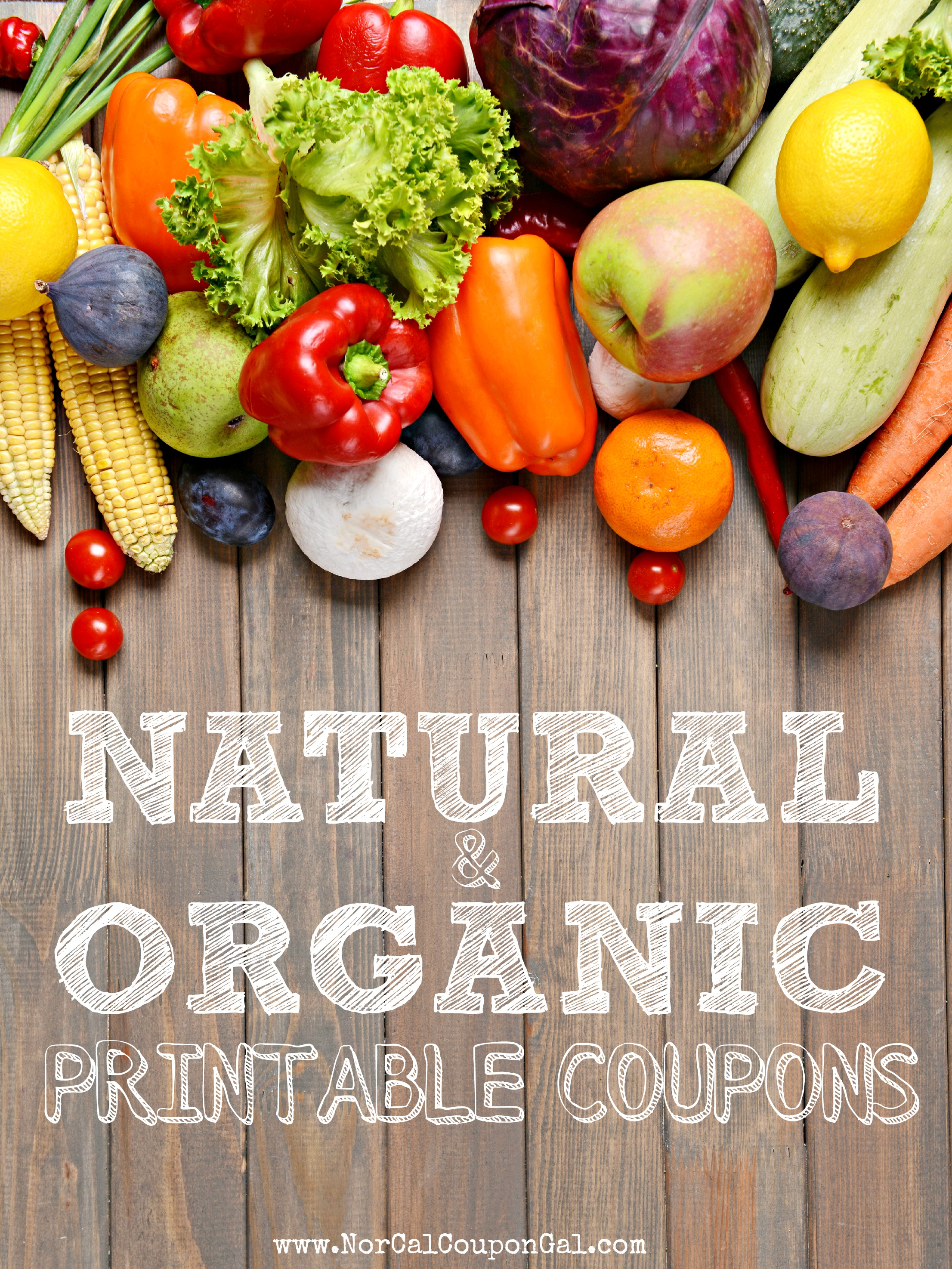 Natural & Organic Printable Coupons