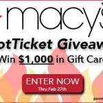 #HotTicket Macy's $50 Gift Card Giveaway (20 Winners!)