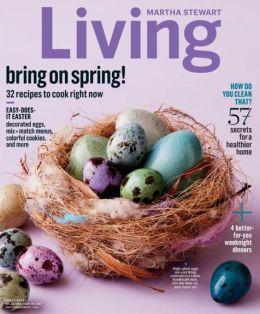 Martha Stewart Living April 2015
