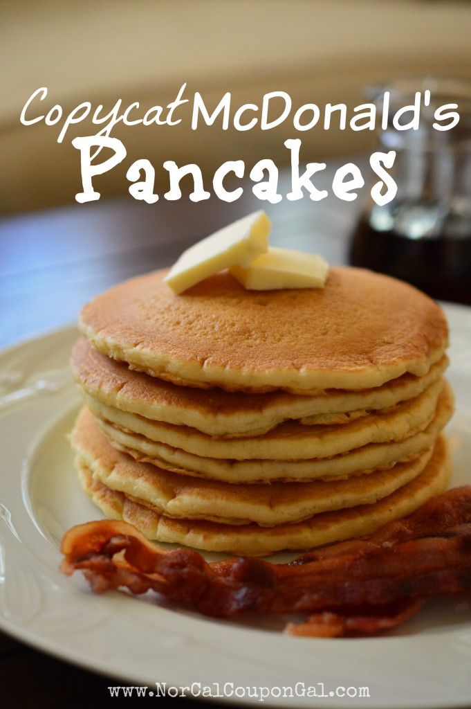 McDonald's Pancakes | McDonald's Copycat Recipes You Need To Try Right Now