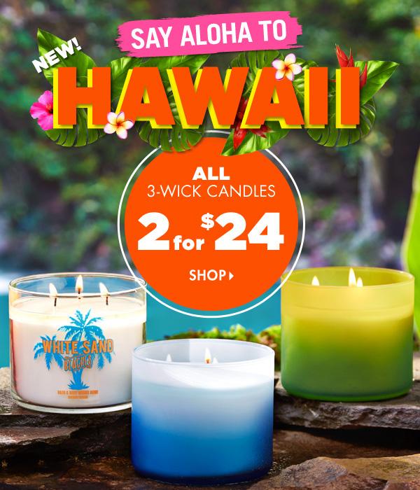 BBW Hawaii Candles