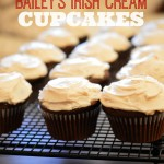 In The Kitchen With Mom Mondays – Bailey's Irish Cream Cupcakes Recipe