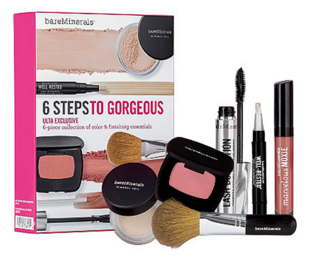 Bareminerals 6 Steps To Gorgeous Set Just 25 106 Retail