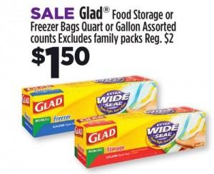 Glad DG Sale