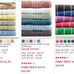 Macy's Pop Up Bed & Bath Sale – Take An Additional 40% OFF Already Reduced Prices