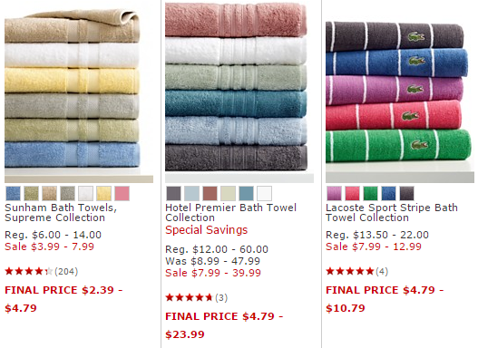Macys Bath Towels Cool Macy's Pop Up Bed Bath Sale Take An Additional 60% OFF Already