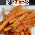 In The Kitchen With Mom Mondays – Super Easy Sweet Potato Fries Recipe