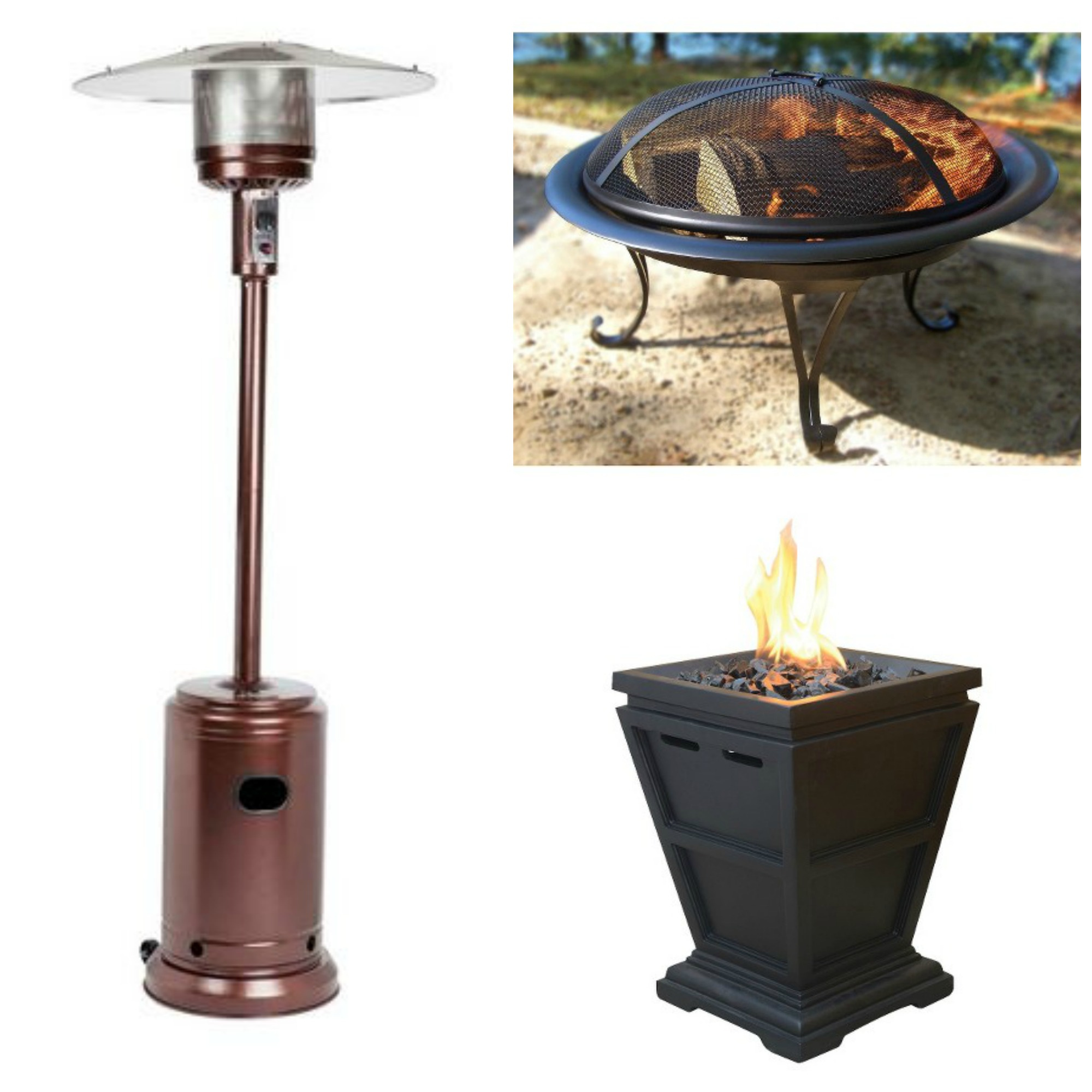 40% OFF Outdoor Heaters & Firepits Today ly