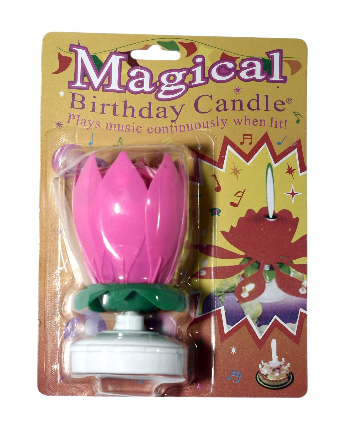 Amazing Singing Opening Flower Happy Birthday Candle Just 295 Shipped