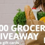 $2,000 Grocery Giveaway – 100 Winners!