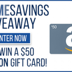 $50 Amazon Gift Card Giveaway – 20 Winners!