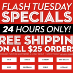 Macy's Flash Sale – FREE Shipping On $25+ Orders