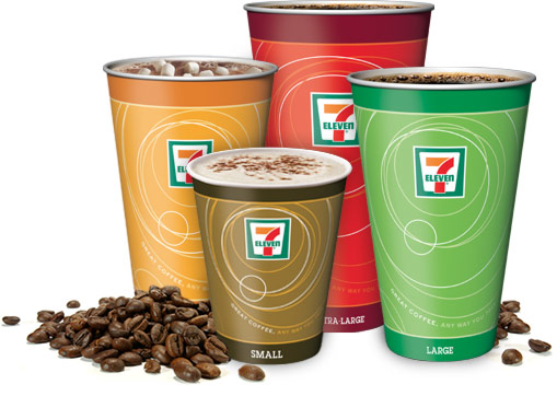 Image result for free 7 eleven coffee