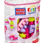 Mega Bloks First Builders Big Building Bag 80 Piece Set Just $10.71 (Reg. $19.99)