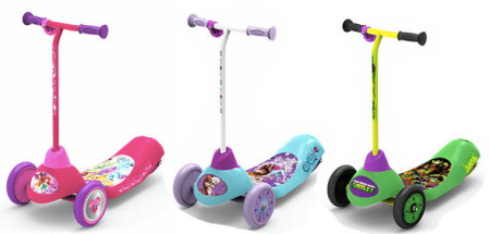 Safe start 3 wheel electric scooter just reg for Toys r us motorized scooter