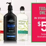 Bath & Body Works – Select Aromatherapy Products Just $5 (Today Only!)