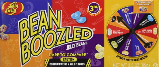 jelly belly bean boozled jelly beans spinner wheel game
