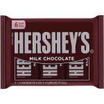 Hershey's Milk Chocolate Bars 6 Pck