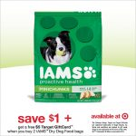 More IAMS Savings At Target!