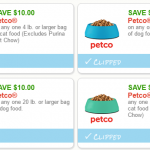 New High Value Petco Coupons – $10 OFF Dog & Cat Food!