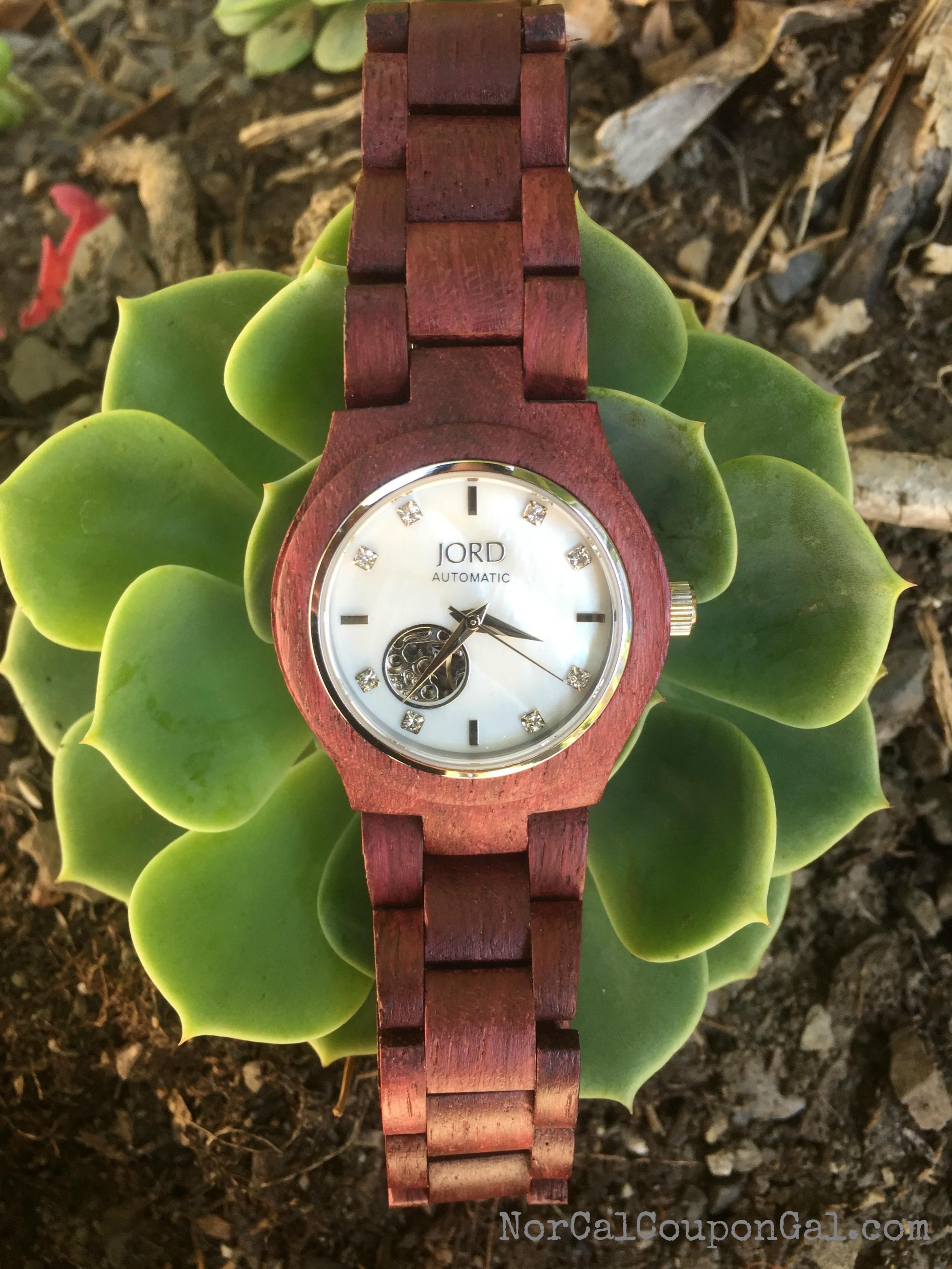 Unique Watches - JORD Wooden Watch