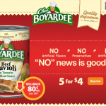 Chef Boyardee On Rollback At Walmart!