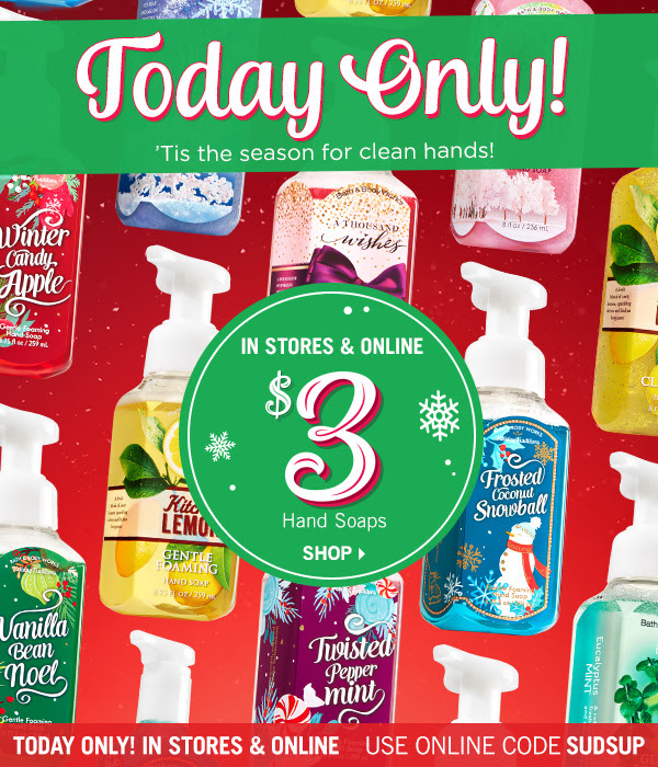 Bath Amp Body Works Hand Soaps Just 3