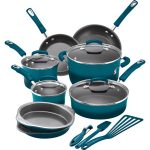 Rachael Ray 15-Piece Hard Enamel Nonstick Cookware Set Just $99.99 (Reg. $290)