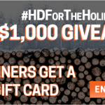 Home Depot $100 Gift Card Giveaway – #HDFORTHEHOLIDAYS