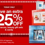 TODAY ONLY – 25% OFF Fragrances & Beauty Gift Sets