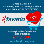 Show Your #favadolove & Be Entered To Win $1,000