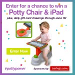 Enter To Win An iPad 2 + Potty Chair #PottyPower