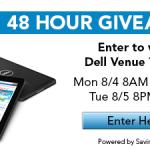 Dell Venue Tablet Giveaway
