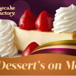 Two FREE Slices Of Cheesecake With $25 The Cheesecake Factory Gift Card Purchase