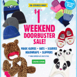 The Children's Place $1 Weekend Sale + Up To 30% OFF