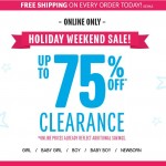 The Children's Place – Up To 75% OFF Clearance + FREE Shipping