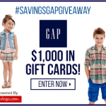 The Gap $50 Gift Card Giveaway (20 Winners!)