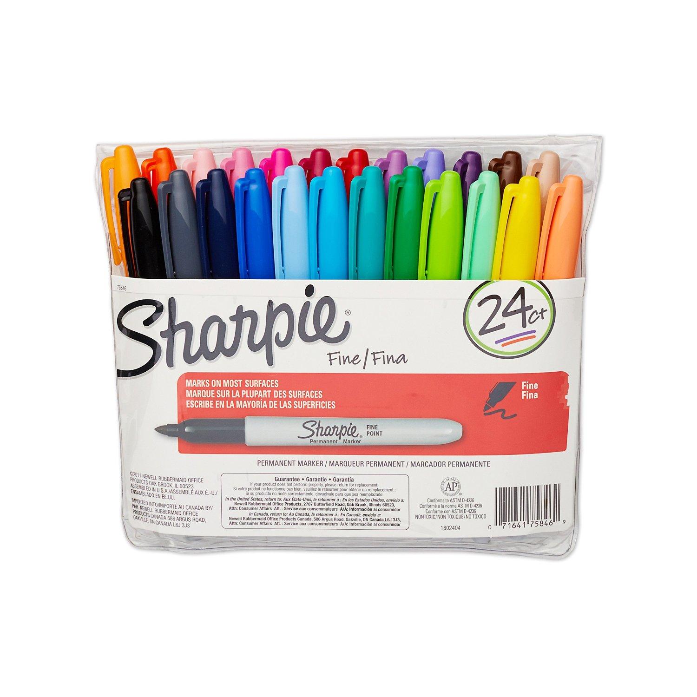 Sharpie Fine Point Permanent Markers 24pk Just $10 (Reg