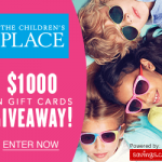 The Children's Place $25 Gift Card Giveaway (40 Winners!)