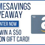 $50 Amazon Gift Card Giveaway – 20 Winners!