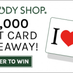 $1,000 The Body Shop Giveaway – 40 Winners!