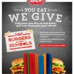 Red Robin – Burgers For Better Schools