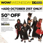 New Dollar General Coupon – 50% OFF $10 Costume!