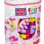 Mega Bloks First Builders Big Building Bag 80 Piece Set Just $10.71 (Reg. $19.99)