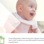 FREE Sam's Club Baby Sample Box